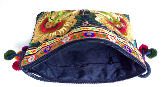Rich Embroidery Crossbody Bag - Style Me Love