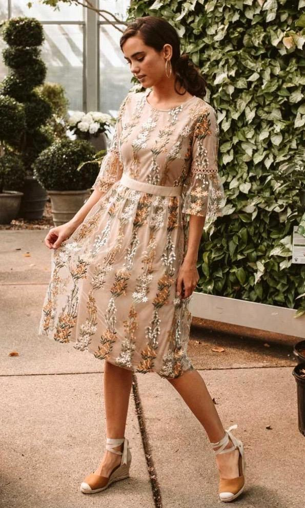Champagne Adore Dress - Style Me Love
