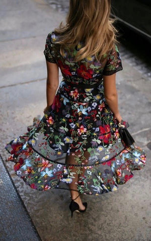 Gypsy Orient Dress - Style Me Love
