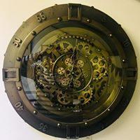 Load image into Gallery viewer, large steampunk clock