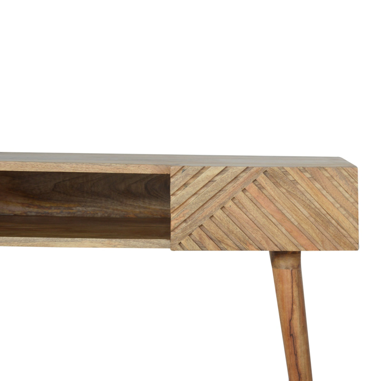 Line Carving Writing Desk