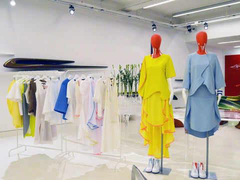 JUDY WU CURVE COLLECTION PRESENTATION AT ZAHA HADID