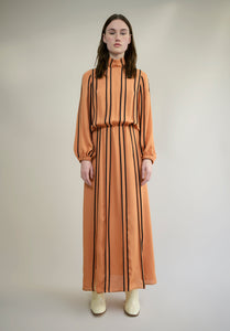 SILK CREPE MAXI DRESS