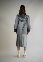Load image into Gallery viewer, WOOL BLEND DOUBLE SLITS SKIRT