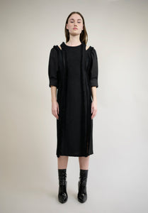 LINTON TWEED MIDI DRESS
