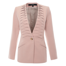 Load image into Gallery viewer, Pleated Tailor Jacket Blazer