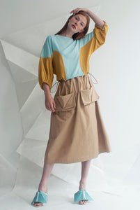 Cotton Origami Skirt