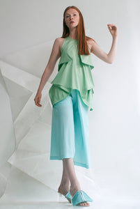 Crepe Handkerchief Top