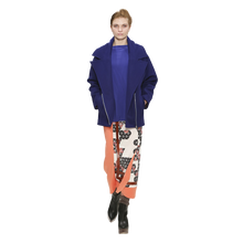 Load image into Gallery viewer, Over-sized Biker Jacket