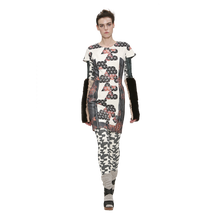 Load image into Gallery viewer, Printed Frame II Dress