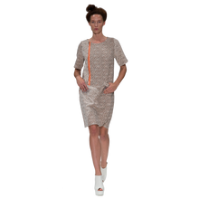 Load image into Gallery viewer, French Tweed Biker Dress