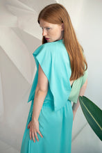Load image into Gallery viewer, Celeste Crepe Wing Dress