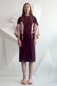 Technical Jersey Pencil Skirt