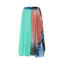 Load image into Gallery viewer, Silk Pleats Skirt
