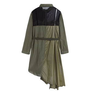 Parachute Shirt Dress
