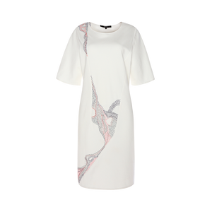 Tee Dress with Stitches