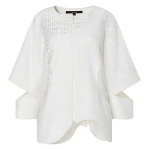 Cut-out Sleeve Summer Jacket
