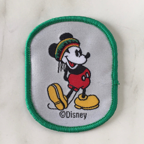 PARCHE MICKEY GREEN - Ghetto Gato Vintage Alicante Ropa