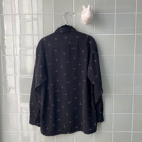 CAMISA CRAZY BLACK - Ghetto Gato Vintage Alicante Ropa