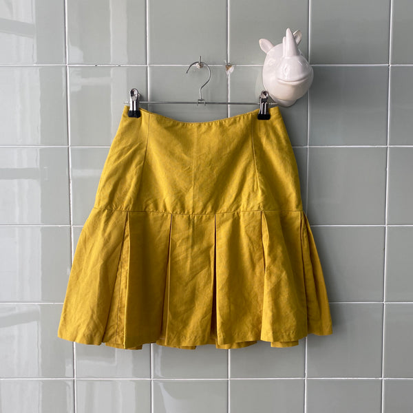 MINIFALDA YELLOW - Ghetto Gato Vintage Alicante