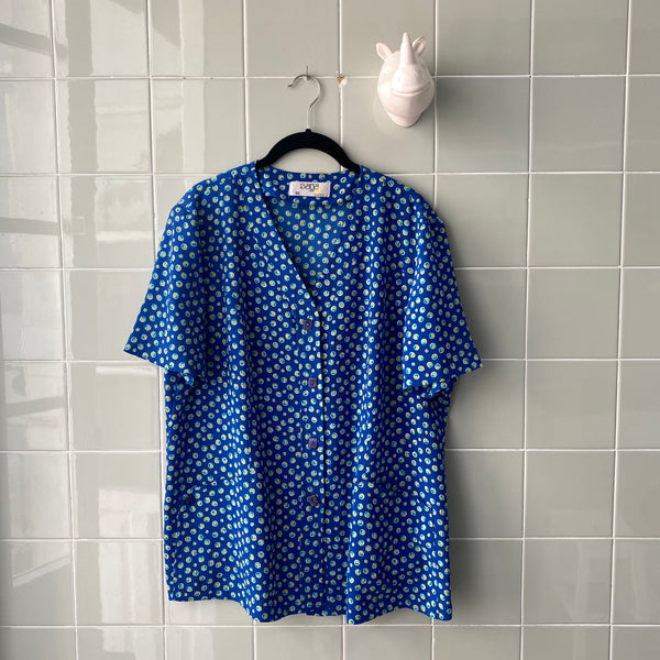 CAMISA BLUE BUBBLES