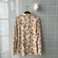 CAMISA BAROQUE YELLOW ROSES
