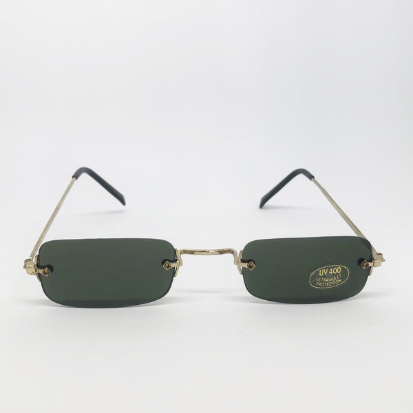 GAFAS 90S GOLD MINI - Ghetto Gato Vintage Alicante Ropa