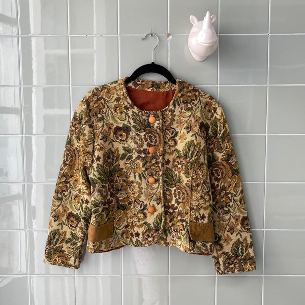 TAPESTRY JACKET BEIGE
