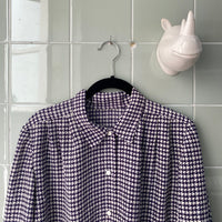 CAMISA PATA GALLO PURPLE