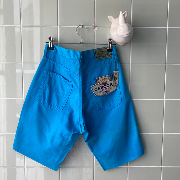 SHORT MIDI BLUE - Ghetto Gato Vintage Alicante Ropa