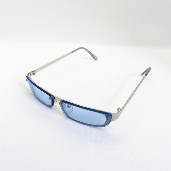 GAFAS 90s MINI BLUE - Ghetto Gato Vintage Alicante Ropa