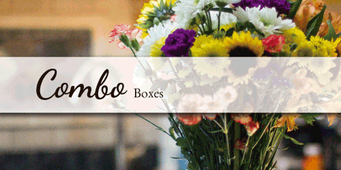 Combo Boxes - Flower Type EbloomsDirect