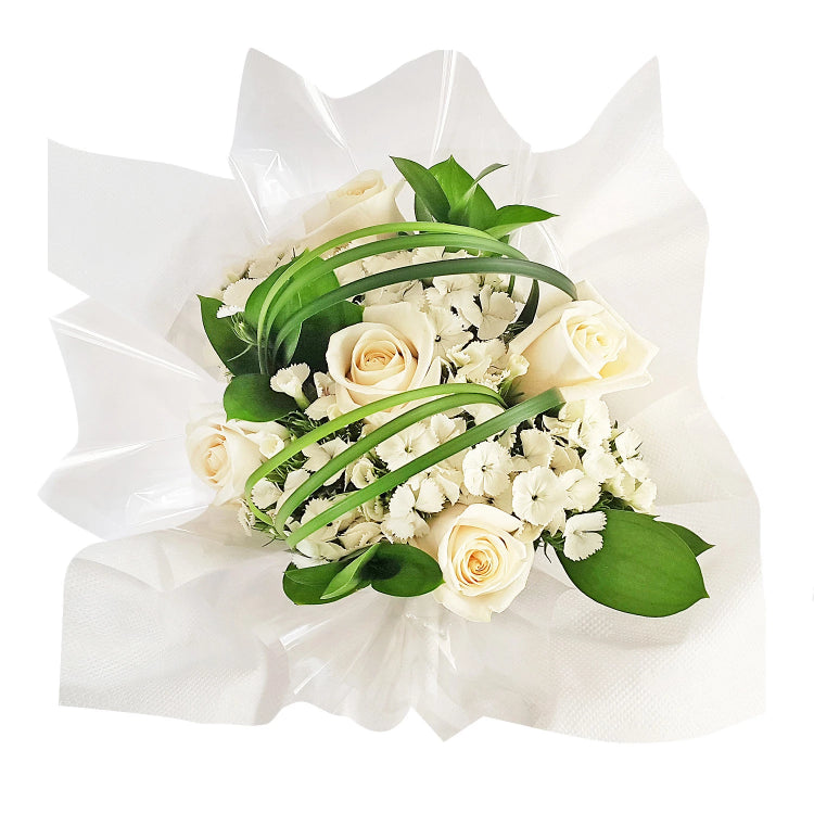 Centerpieces Touch of Class party White - Pack 5 - EbloomsDirect