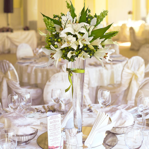 30 stems Mixed bouquet 50cm Sonoma Flair - White - Pack 5 - EbloomsDirect