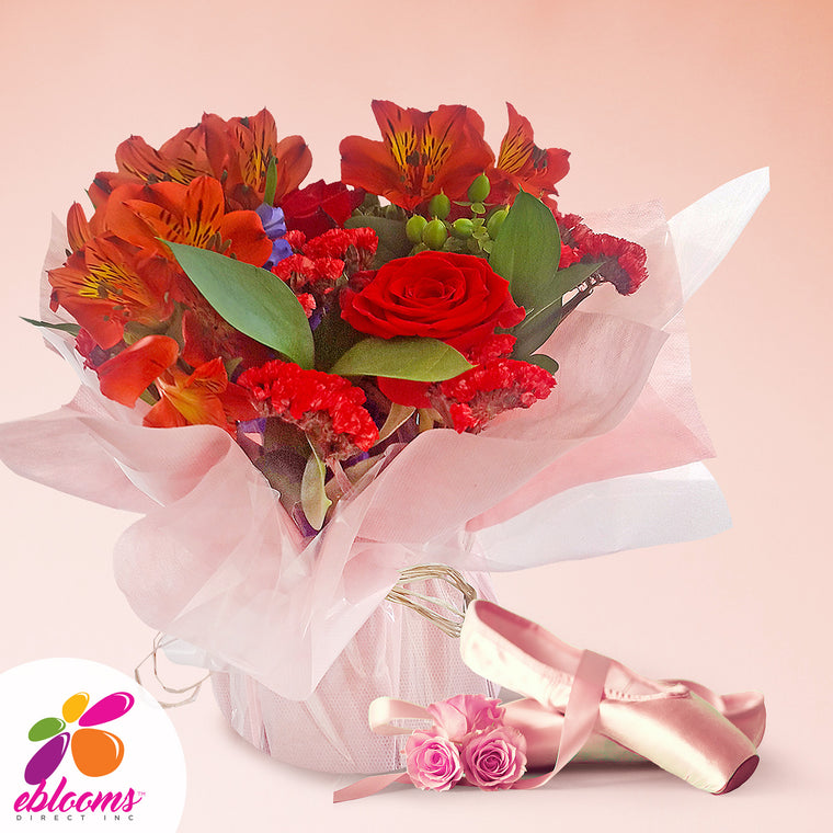 Centerpieces Red Hot Party - Pack 5 - EbloomsDirect