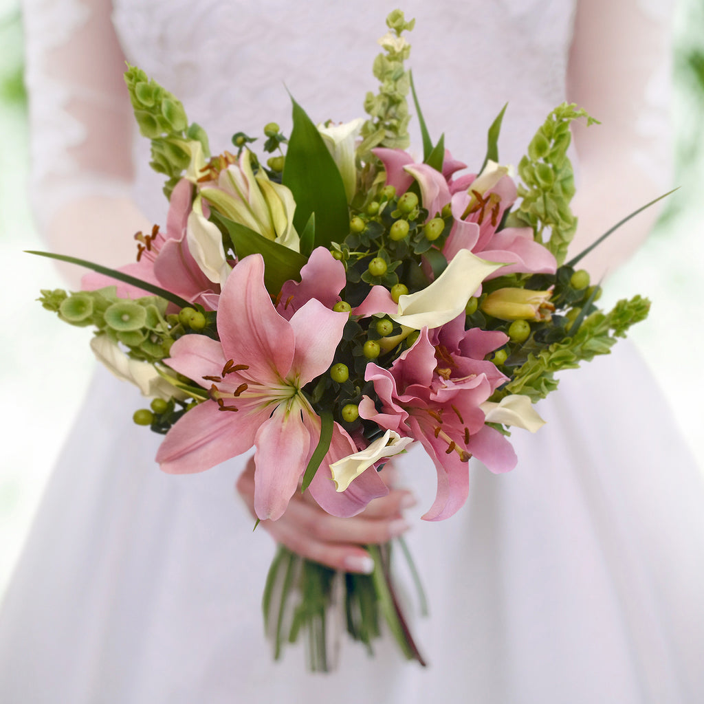 30 stems Mixed bouquet 50cm Sonoma Flair- Pink and White - Pack 5 - EbloomsDirect