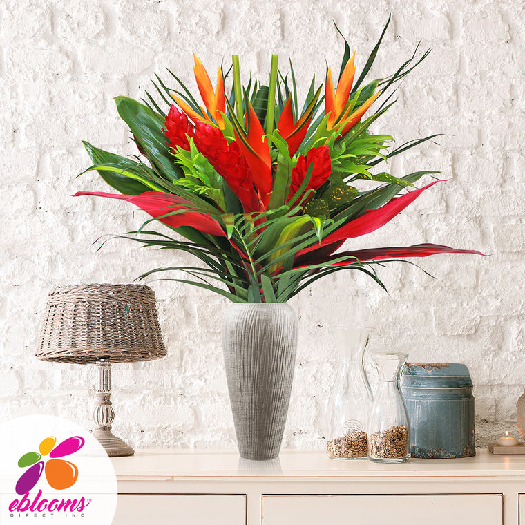 Wild About You Tropical Bouquet - EbloomsDirect
