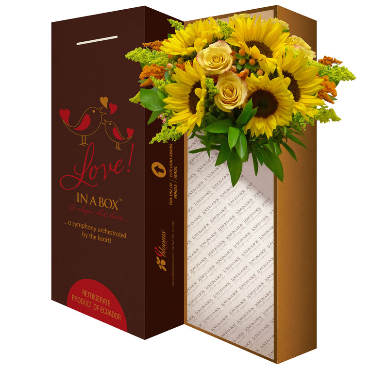 Sunshine Bouquet - EbloomsDirect