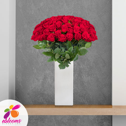 Red Roses Long Stems for valentine's day 2020