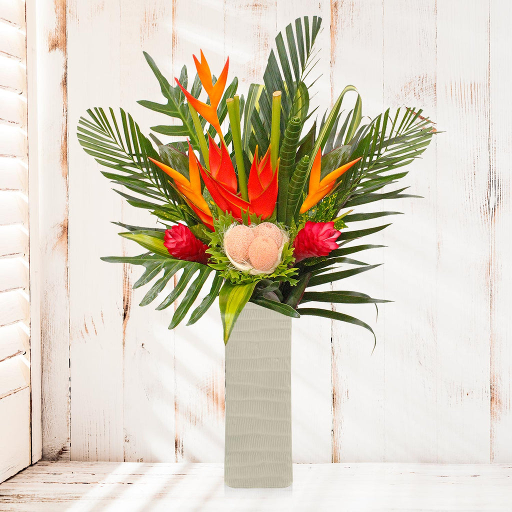 Tropical Bouquet Warmth of the Tropics  - EbloomsDirect