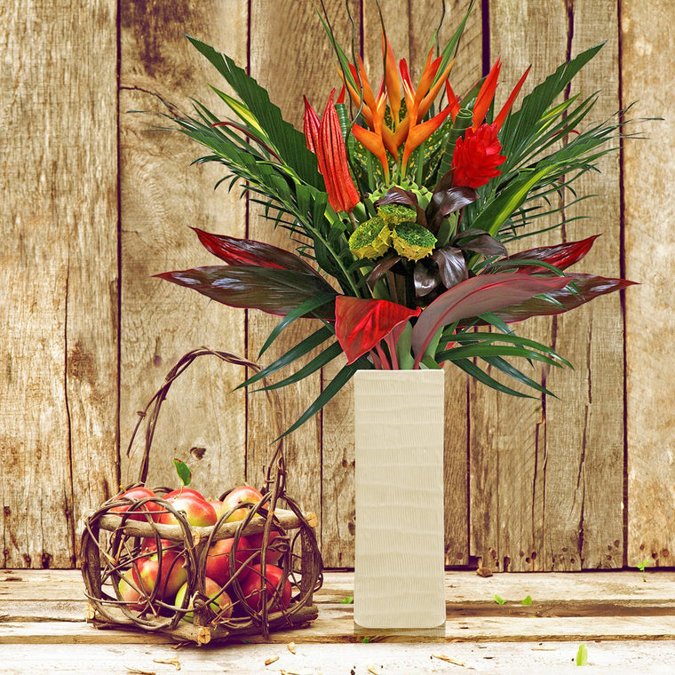 Family, Football and Turkey Tropical Bouquet - EbloomsDirect