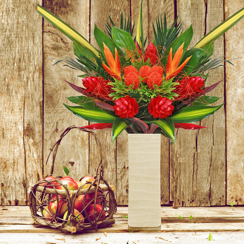 Hot Tropical Bouquet - EbloomsDirect