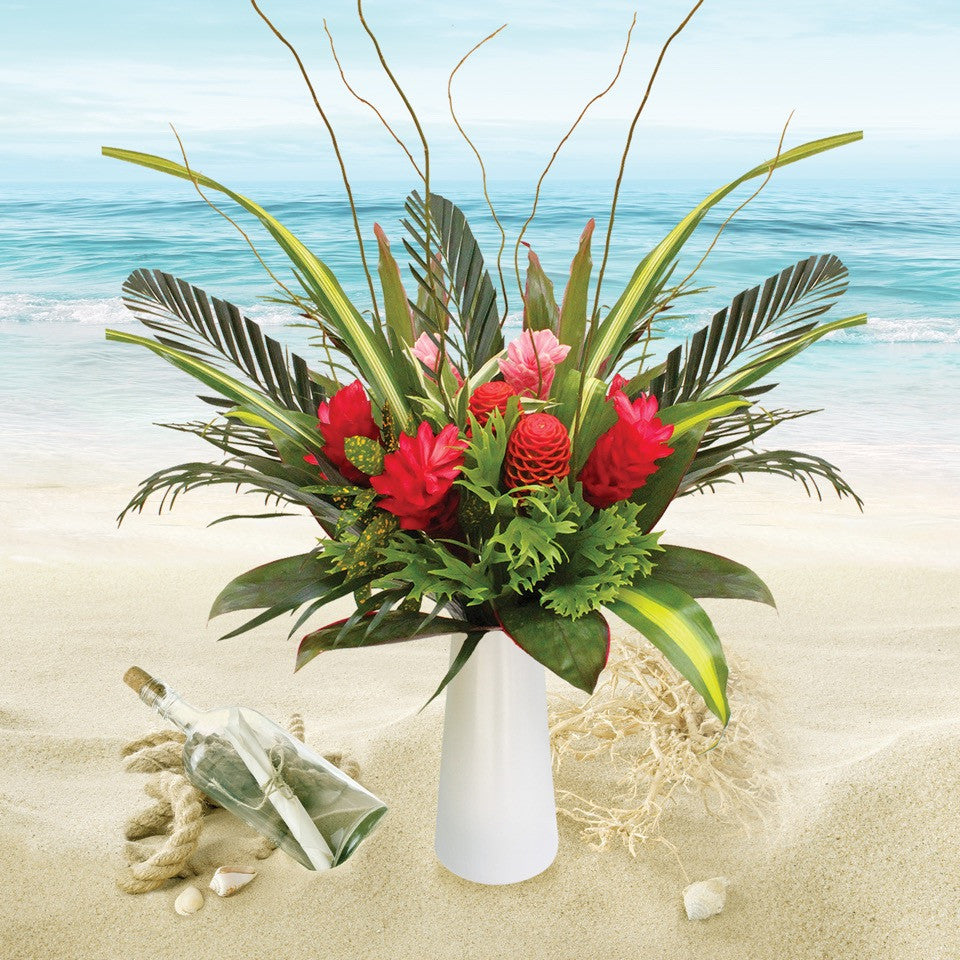 Tropical Love Bouquet - EbloomsDirect
