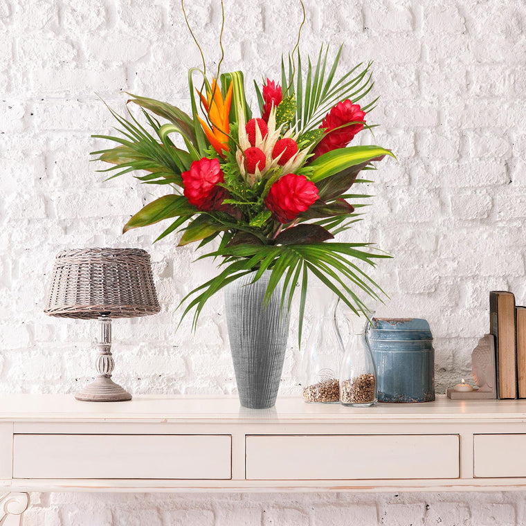 Naughty or Nice Tropical Bouquet - EbloomsDirect
