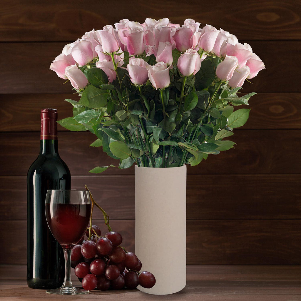 Light pink roses the best flowers arrangements centrpieces and bouquets to order online for any ocassion or wedding