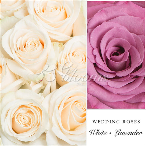 Lavender & White Wedding Rose Combo the best flower arrangement centerpeices bouquets to order online for any ocassion weddings, or event planners and valentine's day