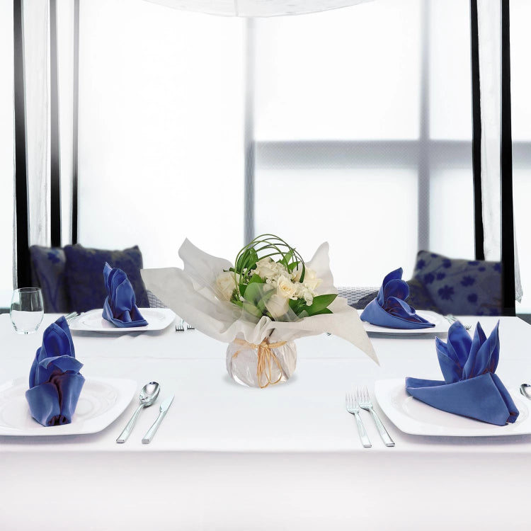 Party centerpieces touch of class white