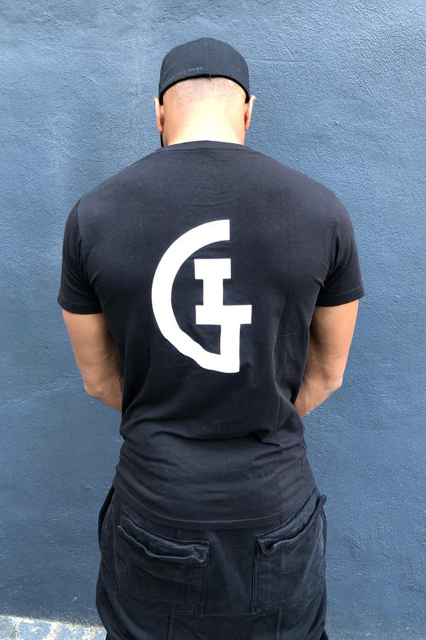 Mens Hashtag Tee - Black