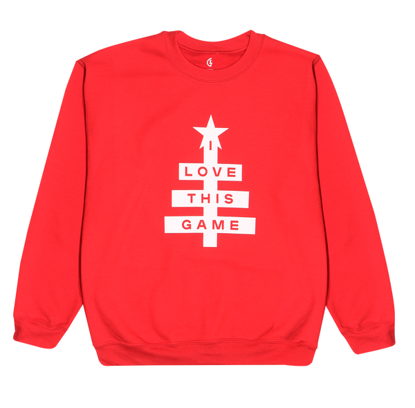 ILTG Tree Sweatshirt Red