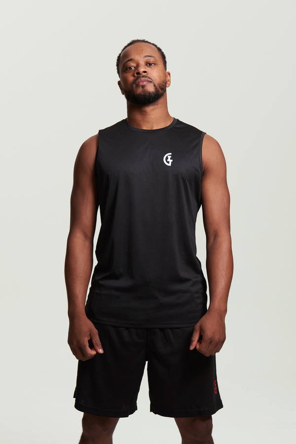 Men's Classic ILTG Gym Vest - Black